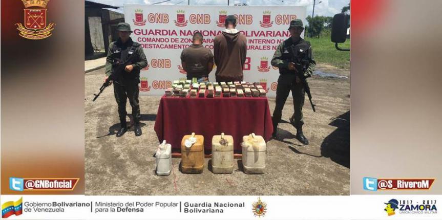 GNB Mérida desmanteló banda 'Los Plantearos' dedicados al contrabando de combustible