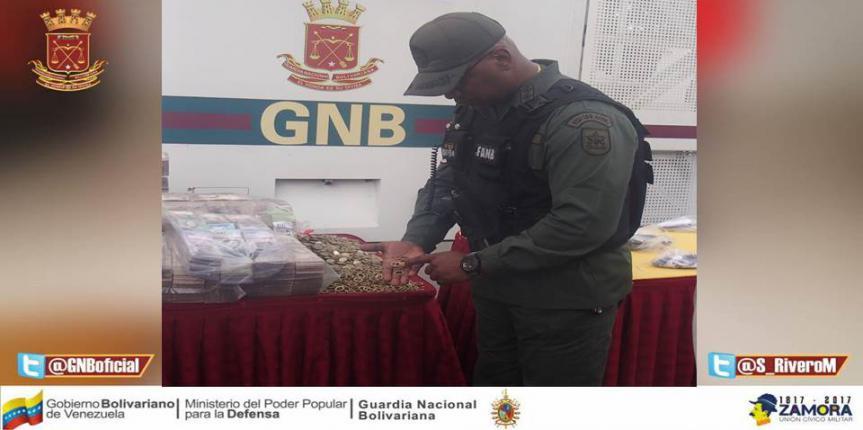 GNB Táchira continúa lucha contra extracción ilegal del cono monetario