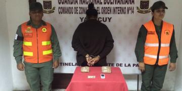 GNB detuvo a ciudadana por tráfico lícito de drogas en el estado Yaracuy