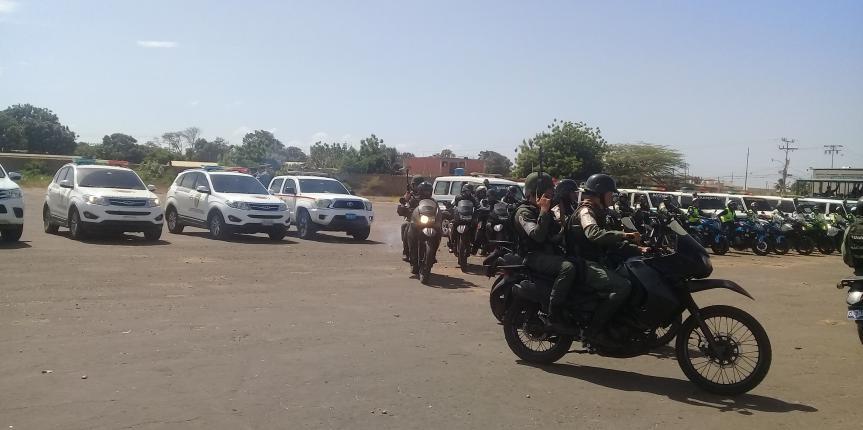 Cuerpos de Seguridad en el Zulia se despliegan por quinta semana consecutiva desde la parroquia Idelfonso Vázquez