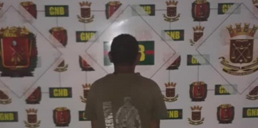 GNB Falcón capturó a ciudadano por agredir a su expareja en Punto Fijo