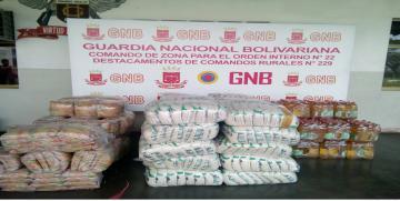 GNB retuvo productos de primera necesidad por no presentar documentos que los ampare