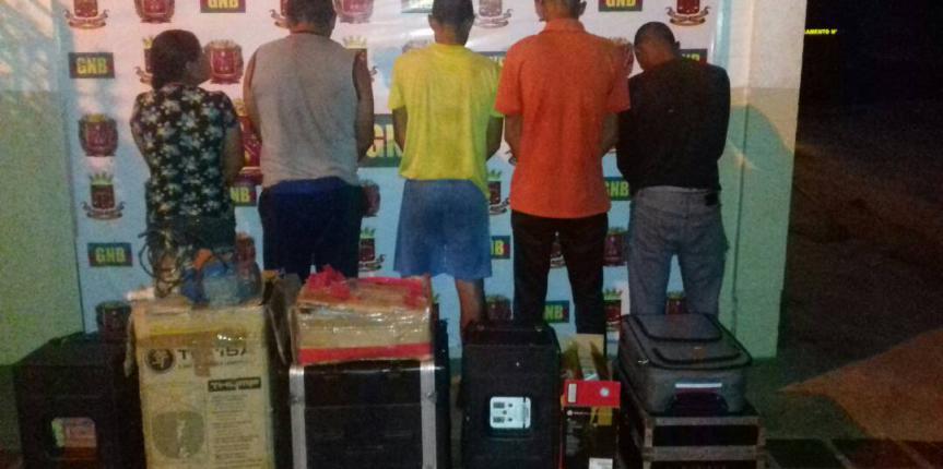 GNB Guárico desmanteló banda que azotada al municipio Mellado