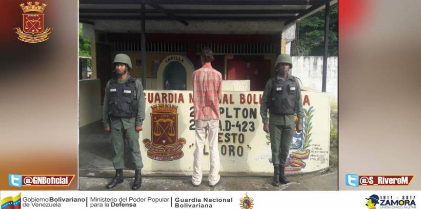 Capturado ciudadano que se encontraba solicita en el estado Aragua
