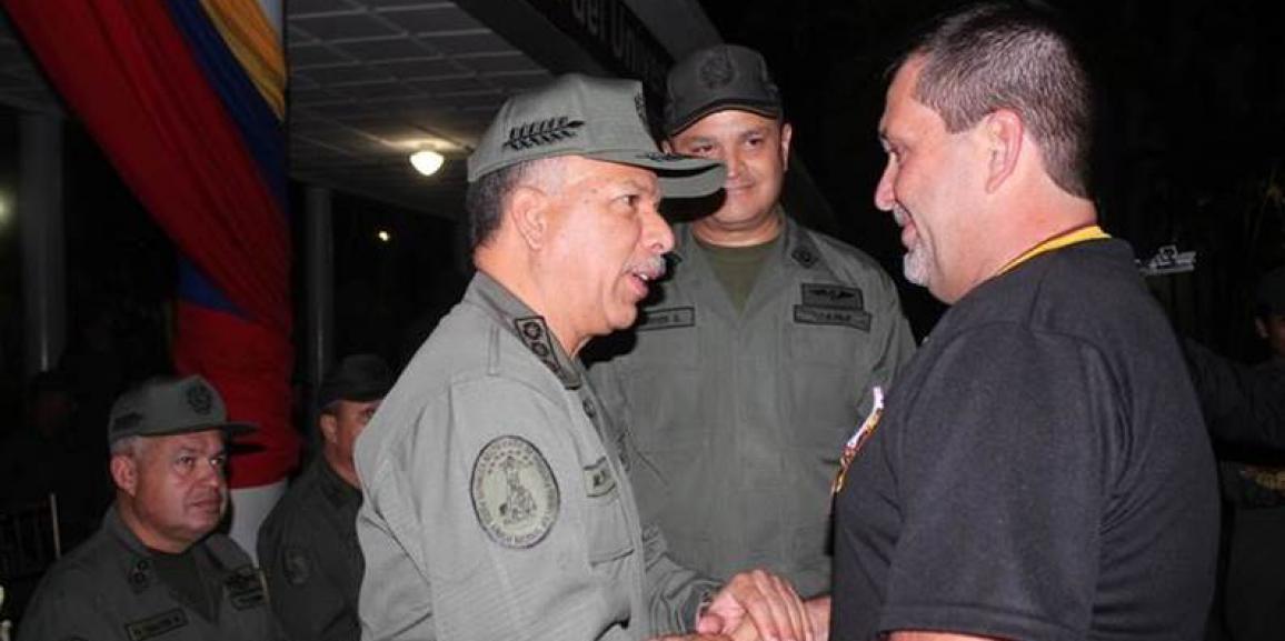 Cadetes y profesores de la Academia Militar de la GNB fueron condecorados