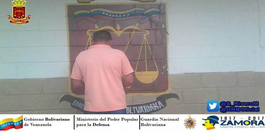 Aprehendido ciudadano solicitado por la justicia en Guárico