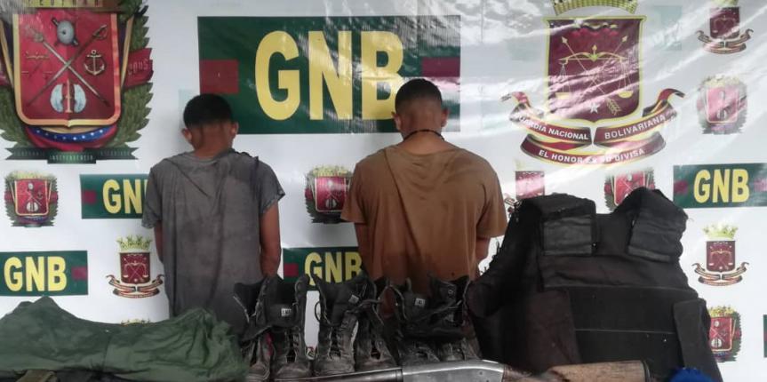 Comando de Vigilancia Costera desmantela banda delictiva dedicada a la extorsión y secuestro express en el estado Sucre