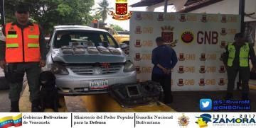 Capturado ciudadano con 12 panelas de marihuana en Táchira