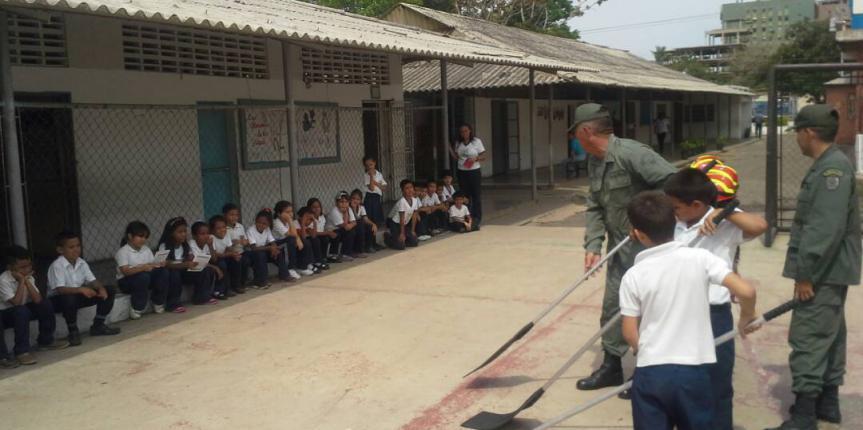GNB Falcón imparte charlas de sensibilización ambiental en planteles educativos