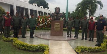 GNB Carabobo realizó Ofrenda Floral en conmemoración al natalicio del Líder de la Revolución Bolivariana