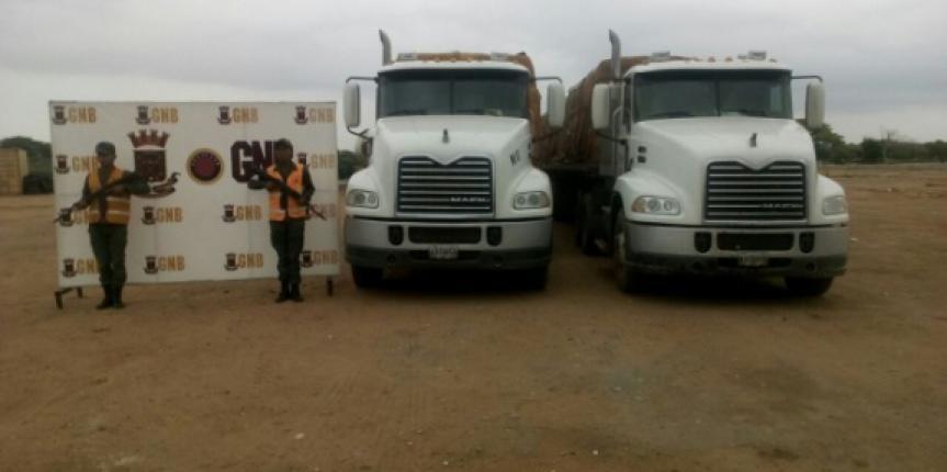 GNB decomisa 130 toneladas de alimentos en distintos municipios del estado Zulia