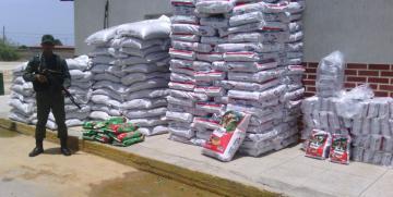 GNB Nueva Esparta retuvo tres toneladas de perrarina
