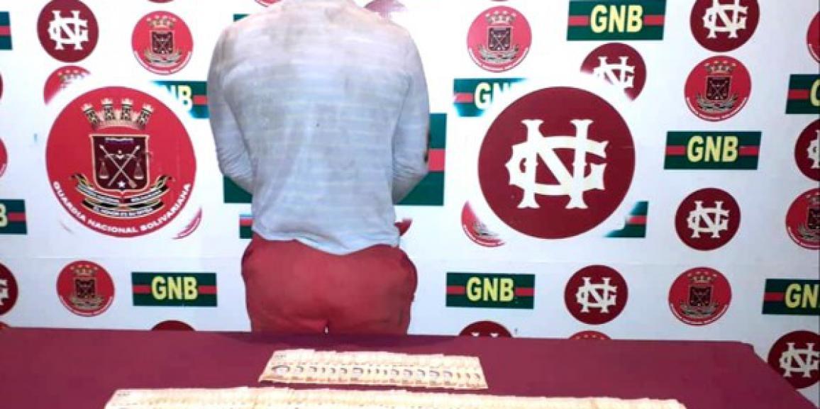 GNB detiene ciudadano en el centro de Maracaibo por comercialización ilícita de bolívares soberanos