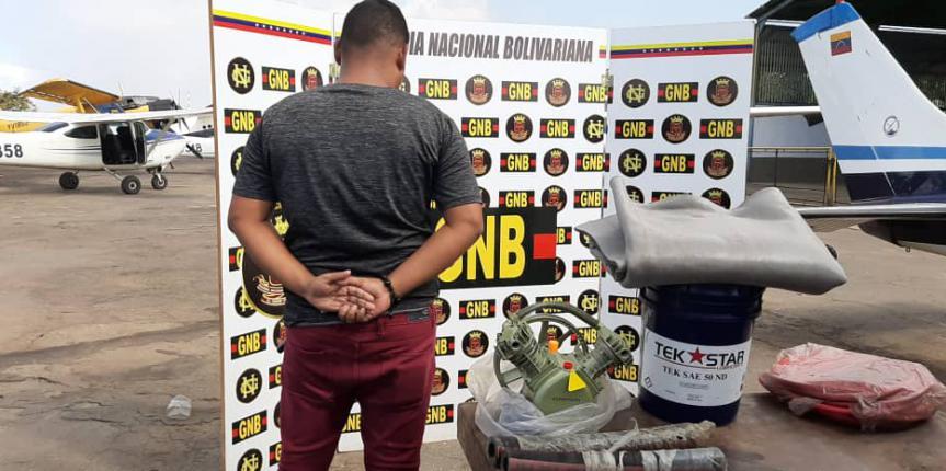 GNB capturó  a ciudadano con material para ejercer minería ilegal en el estado Bolívar