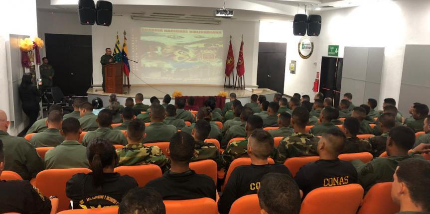 GNB impartió charlas en materia de seguridad y prevención a personal militar en el estado Bolívar