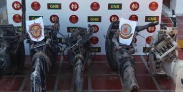 Comando de vigilancia costera efectúa la recuperación de cinco motores fuera de borda en el estado Anzoátegui