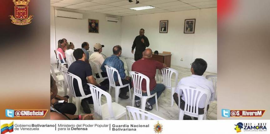 GNB realiza reunión con Productores Agropecuarios en Bolívar