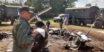 Nueva presunta narco avioneta es hallada por la FANB al Sur del Lago en Zulia