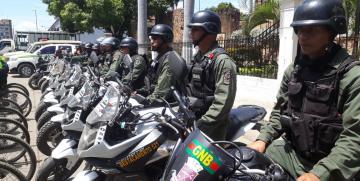 Desplegados más de 2 mil 700 efectivos de seguridad en el estado Anzoátegui