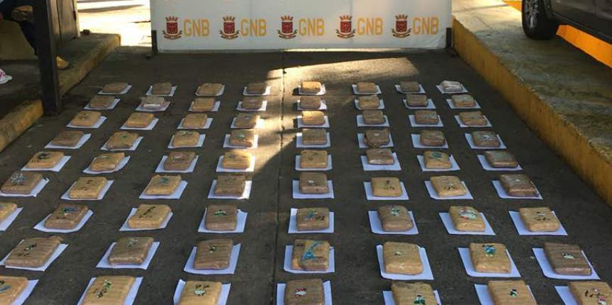 Duro golpe al Narcotráfico GNB Táchira incautó 99 panelas de Marihuana