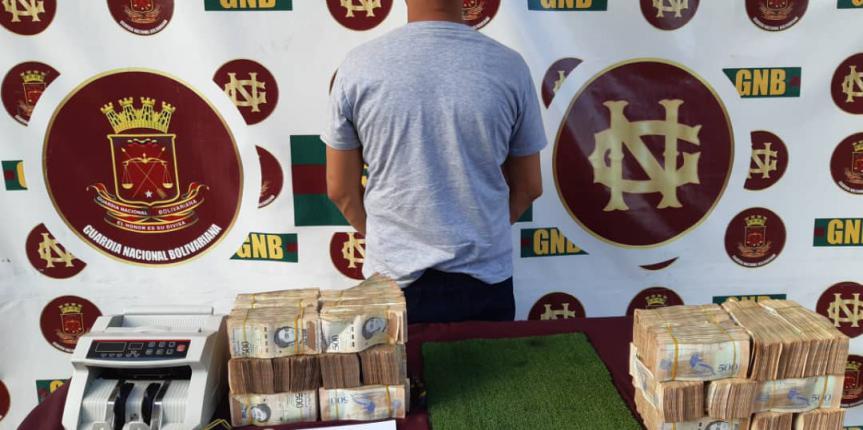 GNB capturó a ciudadano por robo en la población de El Callao estado Bolívar
