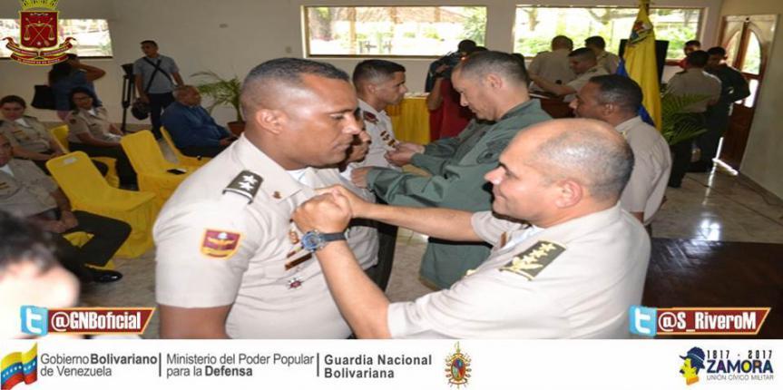GNB en Guárico reconoció labor y compromiso de su personal