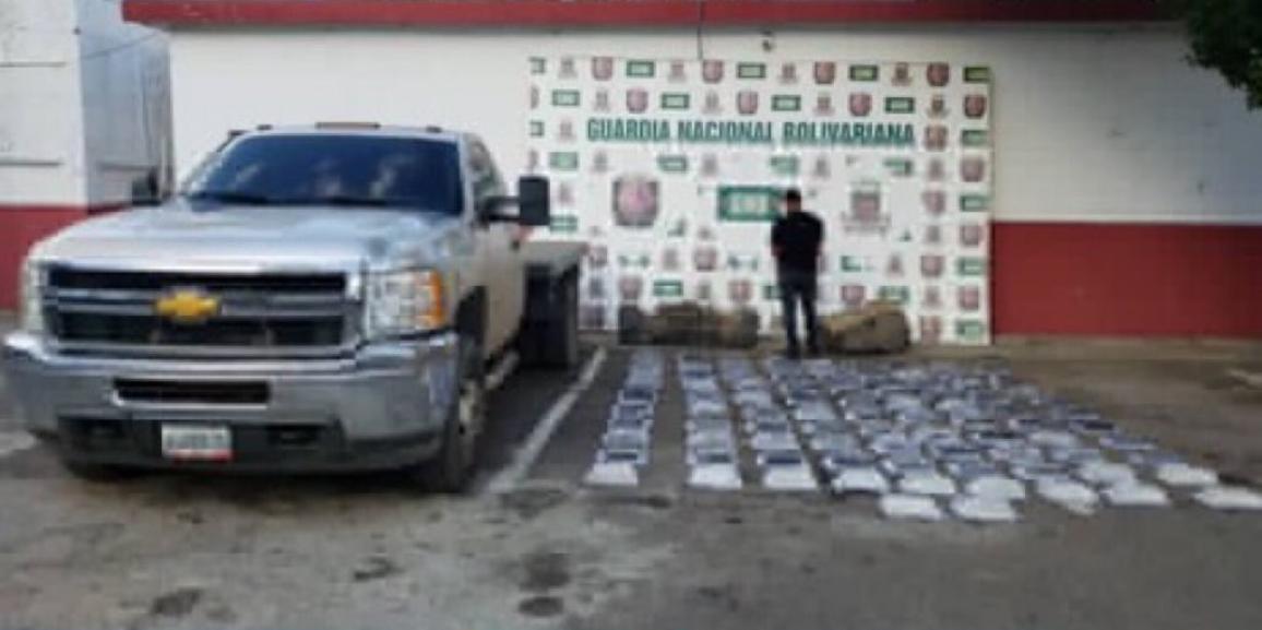 GNB Zulia incautó casi 200 kilos de cocaína en la sub-región Perijá