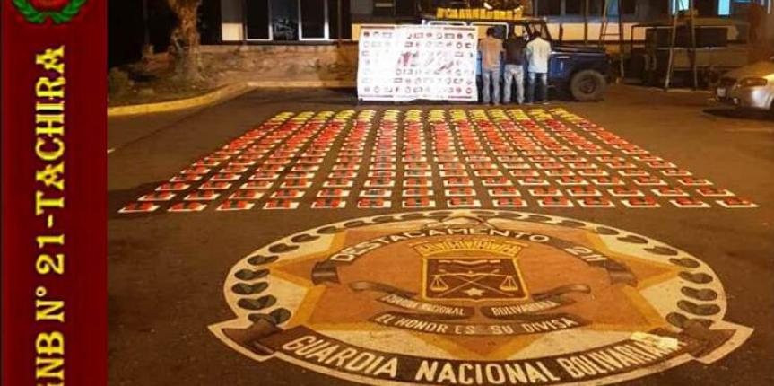 """Desmantelada banda """"Los Patroleros"""" por la GNB"""