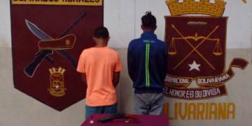 GNB Monagas capturó a 5 ciudadanos por diversos delitos