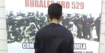 GNB captura a ciudadano robando un vehículo en Barcelona