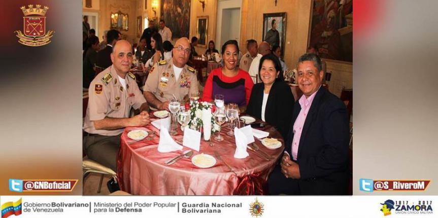 GNB rinde homenaje a los medios de Comunicación en el marco del Octogésimo Aniversario del Componente