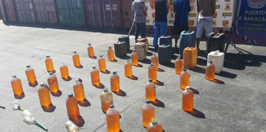 GNB Zulia detuvo a más de 20 ciudadanos en varios procedimientos en materia de retención de combustible