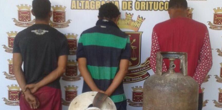 GNB Guárico desarticuló banda que tenía azotada a productores