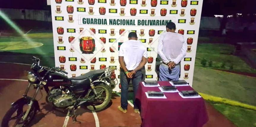 GNB incauta más de 10 kilos incauta droga en El Venado y Machiques de Perijá