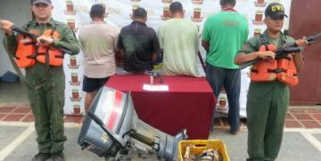 """Vigilancia Costera Zulia de la GNB desmantela banda """"Los Caleteros"""""""