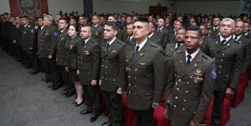 Zona Operativa de Defensa Integral 52 realizó acto de ascensos militares en el estado Monagas