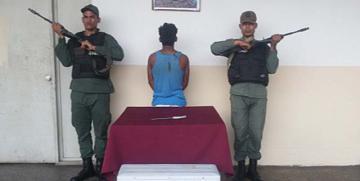 GNB Monagas captura a ciudadano por hurto de aire acondicionado en Charcutería