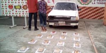 Desmanteladas dos bandas de narcotraficantes por la GNB