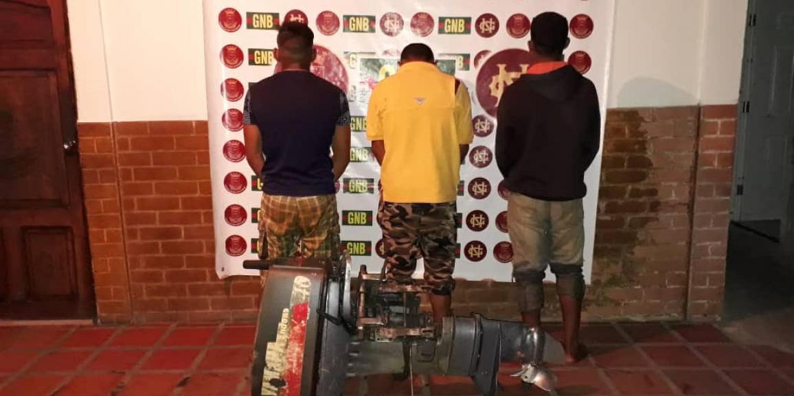 Comando de Vigilancia Costera continúa luchando contra el contrabando de combustible en el estado Delta Amacuro
