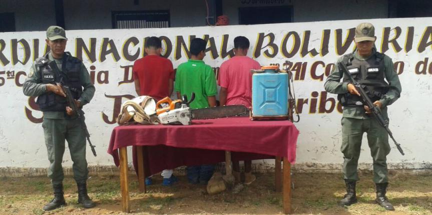 """GNB desmanteló grupo """"robaganado"""" en el estado Guárico"""