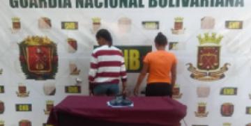 GNB detuvo a dos ciudadanas con medio kilo de presunta droga