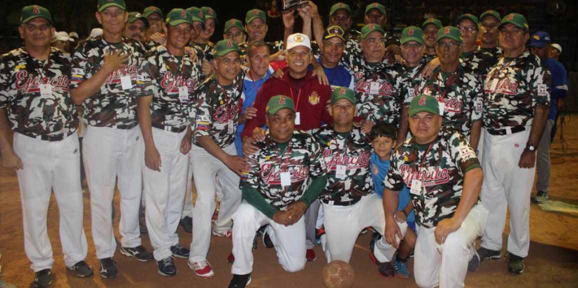 Componentes de la FANB compartieron  en el juego de softball y kikimball en conmemoración de los 81°aniversario de la gnb