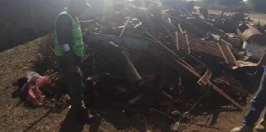 GNB Aragua detuvo a ciudadano con mil kilogramos de chatarra