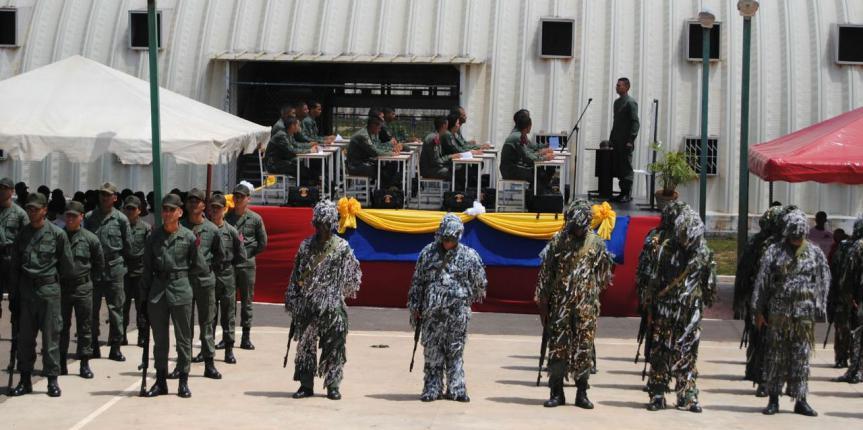 ESGUARNAC San Tomé celebró segundo año de fundada con inauguración de obras