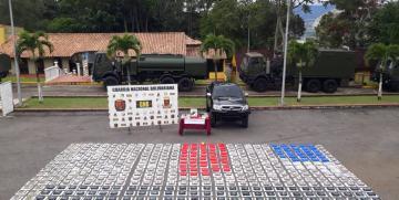 GNB en conjunto con DGCIM desmantelaron banda de narcotráfico en Táchira