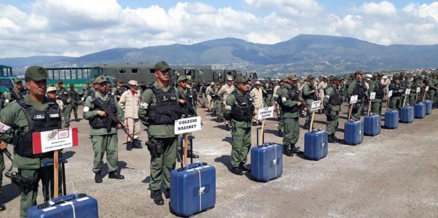 GNB Táchira presente en el Operativo Plan República Diciembre 2018