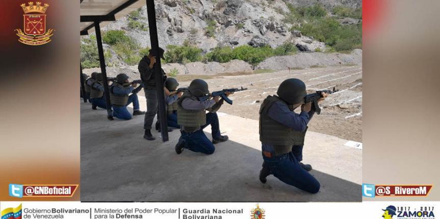 GNB Anzoátegui realizó Ejercicio de Soberanía Bolivariana