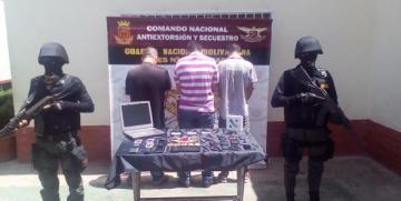 GAES Monagas desmantela banda dedicada al robo