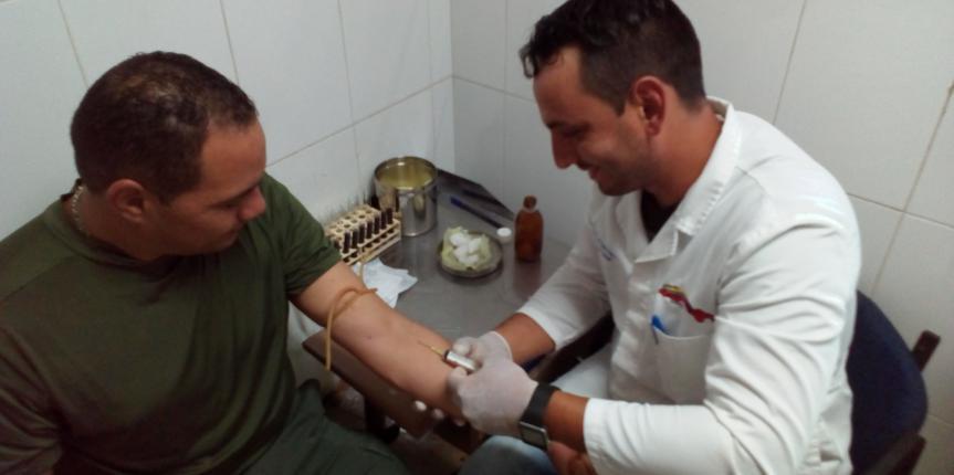 Servicio Médico de la GNB Zulia realizó Jornada Integran Médico Asistencial para personal militar y civil