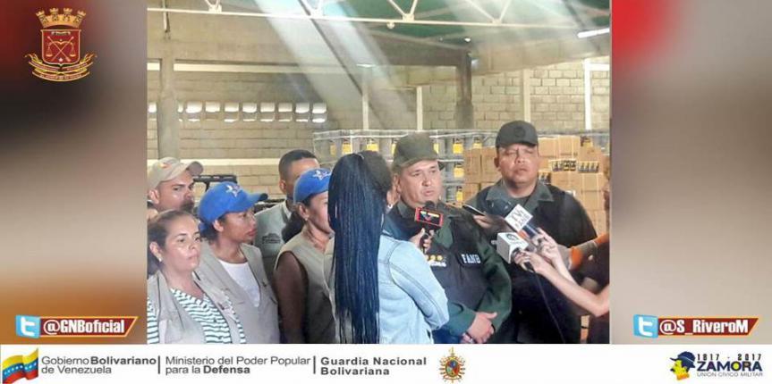 GNB Zulia inspecciona empresas en Santa Bárbara por presunto acaparamiento de artículos para vehículos y sector agropecuario